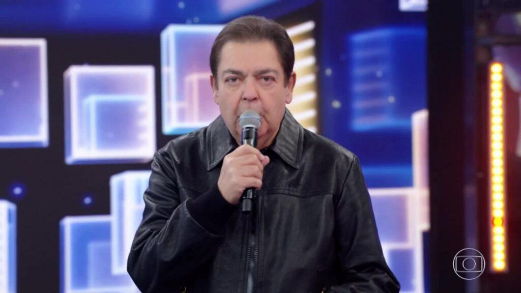 Faustão é internado em São Paulo e deixa de gravar o Domingão (foto: Reprodução/Globo)