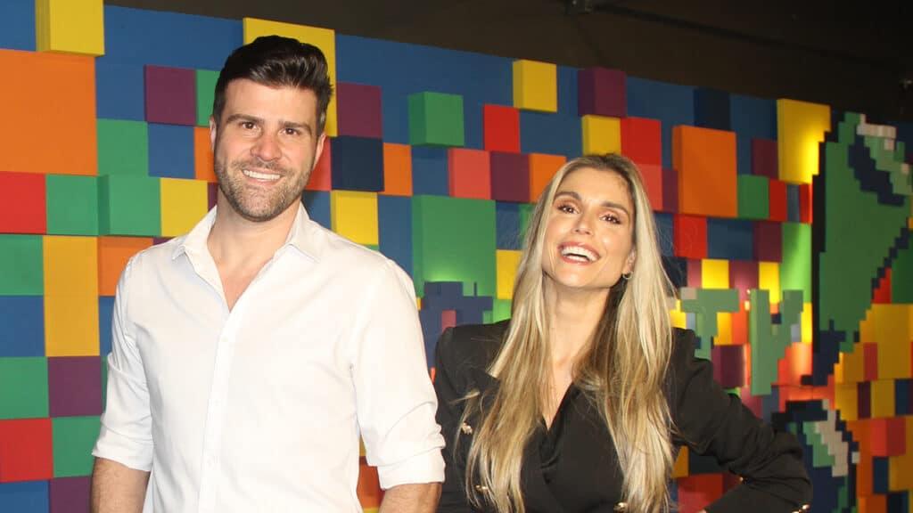 Flávia Viana e Marcelo Zangrandi são os novos apresentadores do TV Fama (foto: Reprodução/Instagram)