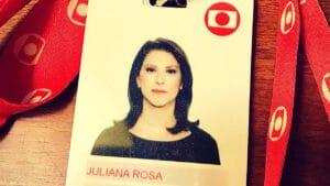 Juliana Rosa pediu demissão da Globo para assinar com a Band (foto: Reprodução/Instagram)
