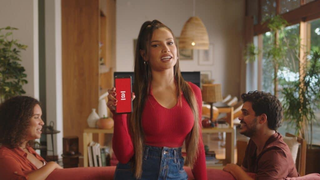 Juliette Freire estreia primeiro filme publicitário de uma marca com Americanas (foto: Divulgação)