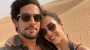 Julinho Casares é apresentador de quadros do universo pet na Record; ele namora Lara Silva, filha de Faustão (foto: Reprodução)