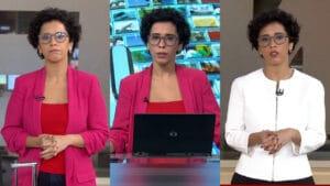 Lilian Ribeiro apresentou o Edição das 10h, Brasil TV e o Em Pauta (foto: Reprodução/Globo/GloboNews)