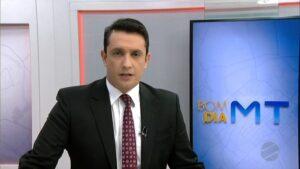 Globo demite apresentador um mês após contratá-lo para o Bom Dia Mato Grosso (foto: Reprodução/TV Centro América)