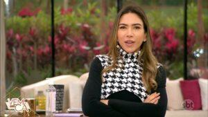 Patricia Abravanel no Vem Pra Cá de 21 de junho: novo horário do programa não emplacou (foto: Reprodução/SBT)