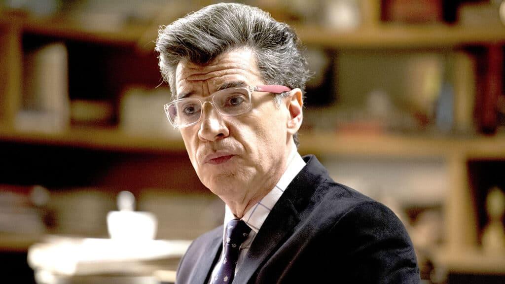 Paulo Betti como o fofoqueiro Téo Pereira na novela Império (foto: Globo/Estevam Avellar)