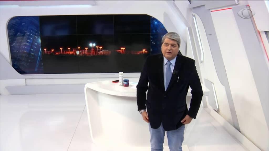 Datena pode sair candidato a presidente pelo PSL (foto: Band/Reprodução)