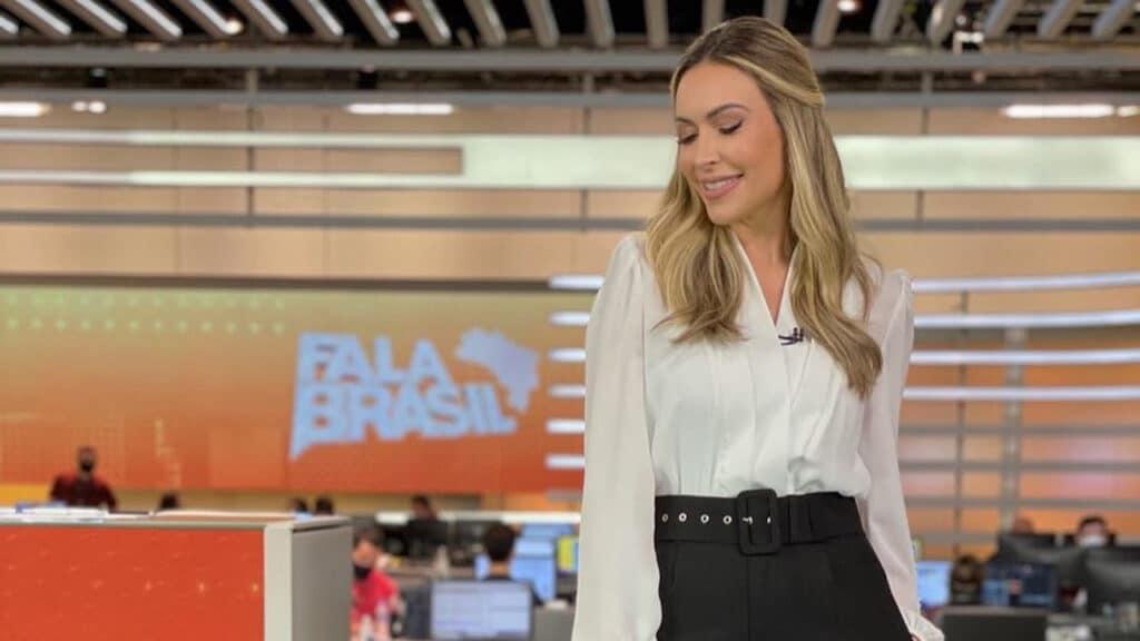 Thalita Oliveira está afastada dos trabalhos na Record após passar por cirurgia (foto: Reprodução/Instagram)