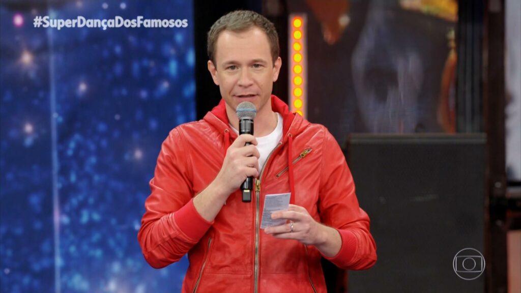 Domingão teve mais público com Tiago Leifert do que com Faustão (foto: Reprodução/TV Globo)