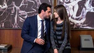 Os atores Rodrigo Lombardi e Camila Queiroz em cena de Verdades Secretas (foto: Globo/Estevam Avellar)