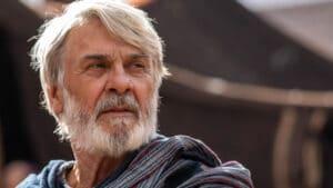 Zécarlos Machado interpreta Abraão na novela Gênesis, a maior audiência da Record (foto: Record/Edu Moraes)