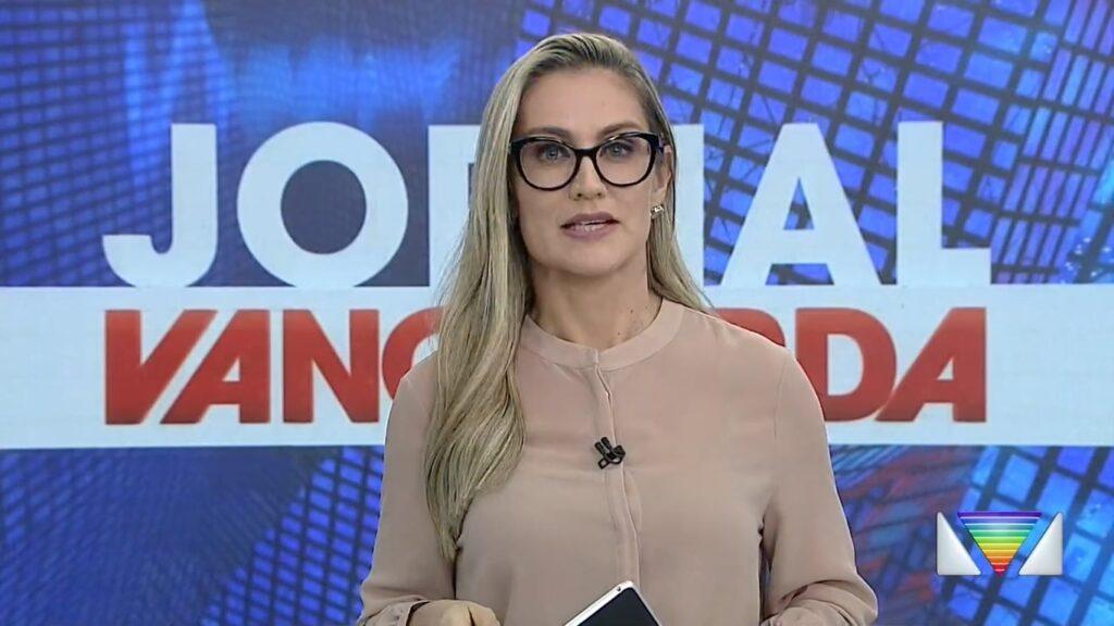Agda Queiroz se demitiu de afiliada da Globo após 15 anos na emissora (foto: Reprodução/TV Vanguarda)