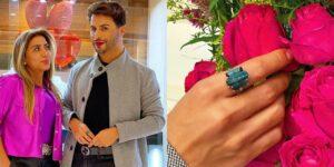 Joalheira presenteou Agustin Fernandez com anel (foto: Reprodução)