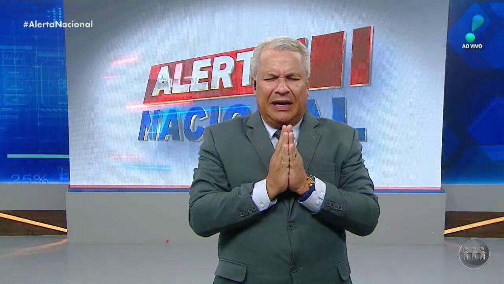 Sikêra Jr. no Alerta Nacional de 28 de junho: novo recorde de audiência (foto: Reprodução/RedeTV!)