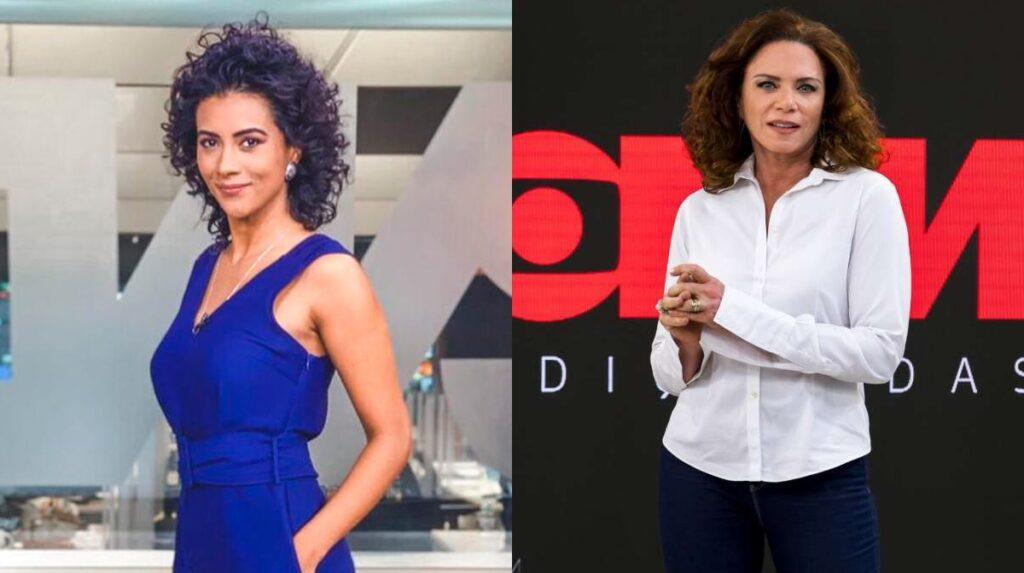 GloboNews definiu a data de estreia do novo J10, com Aline Midlej, e do Conexão, com Leilane Neubarth (fotos: Divulgação/TV Globo)
