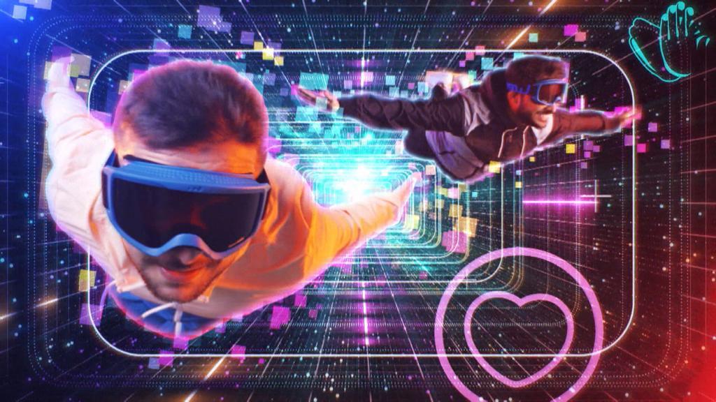 Nova abertura do Tá Na Área com elementos sobre o mundo dos games (foto: Globo/Divulgação)