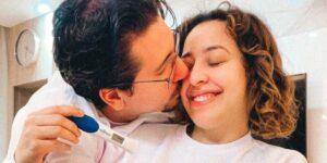 Camila Monteiro está esperando o seu primeiro filho (foto: Reprodução)