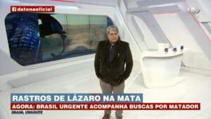 Datena é criticado por cobertura do serial killer de Goiás (foto: Band/Reprodução)