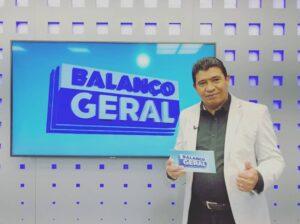 Chico Tello é apresentador do Balanço Geral MT (foto: Reprodução/Instagram)