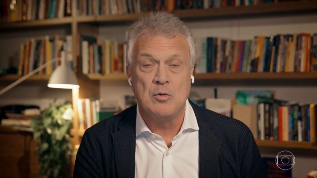 Conversa com Bial foi um dos programas que empurraram a Globo para o segundo lugar (foto: Reprodução/TV Globo)