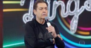Faustão não quer ser homenageado pela Globo no próximo domingo (foto: Reprodução/TV Globo)