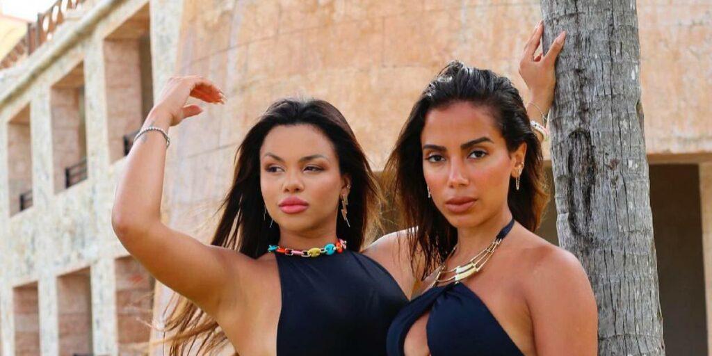 Gabily e Anitta combinaram de se encontrar em Porto Rico (foto: Reprodução)