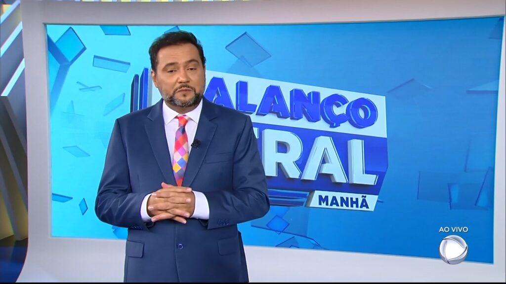 Geraldo Luís voltou para o Balanço Geral Manhã e perdeu para o SBT (foto: Reprodução/Record)