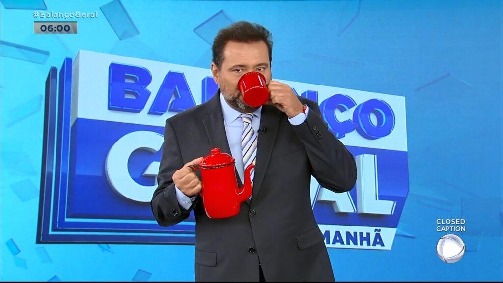 Baixa audiência de Geraldo Luís prejudicou o Fala Brasil (foto: Reprodução/Record)