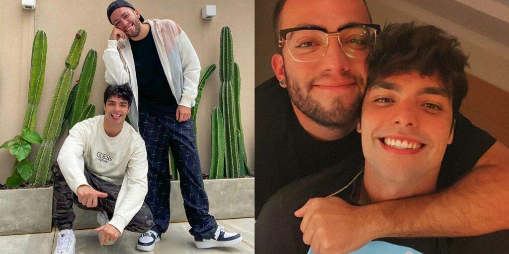 Lucas Rangel assumiu estar namorando com o empresário Lucas Bley (foto: Reprodução)