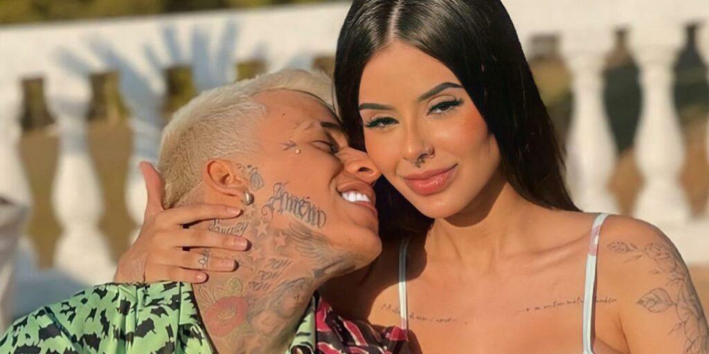Mah Tavares e MC Pedrinho não estão mais juntos (foto: Reprodução)