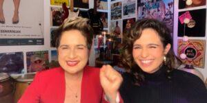 Nanda Costa e Lan Lanh estão esperando gêmeas (foto: Reprodução/TV Globo)