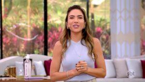 Patricia Abravanel é vista como principal motivo para Vem Pra Cá não decolar de vez (foto: Reprodução/SBT)