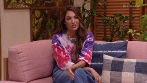 Patrícia Poeta foi superada na audiência por sua irmã caçula, que apresentou o Fala Brasil (foto: Reprodução/TV Globo)