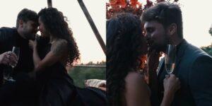 Paula Amorim e Breno Simões anunciaram que vão se casar (foto: Reprodução)