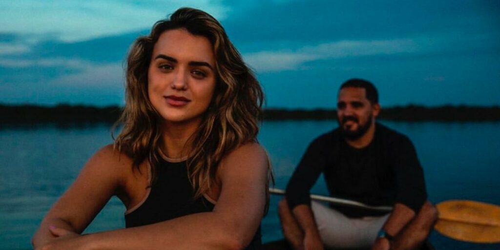 Rafa Kalimann decidiu ir conhecer o Pantanal para se situar sobre novela da Globo (foto: Reprodução)