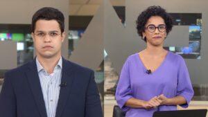 Ricardo Abreu e Lilian Ribeiro se tornaram destaques da nova geração de âncoras da GloboNews (foto: Reprodução/GloboNews)