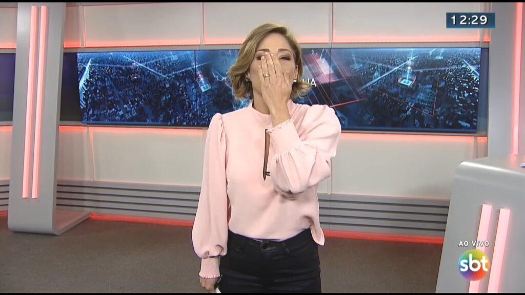 Neila Medeiros será substituída por Felipe Malta na apresentação do SBT Brasília (foto: Reprodução/SBT)