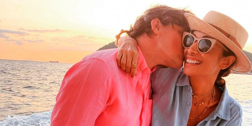 Silvia Braz e Glauco Braz não estão mais juntos (foto: Reprodução)