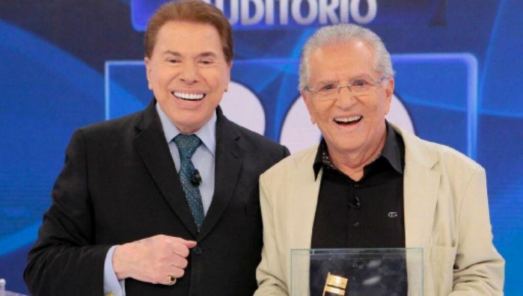 Carlos Alberto de Nóbrega quase saiu do SBT depois de ter brigado com Silvio Santos (foto: Divulgação/SBT)