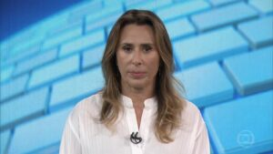 Tatiana Nascimento era uma das principais repórteres da Globo no Rio de Janeiro (foto: Reprodução/TV Globo)