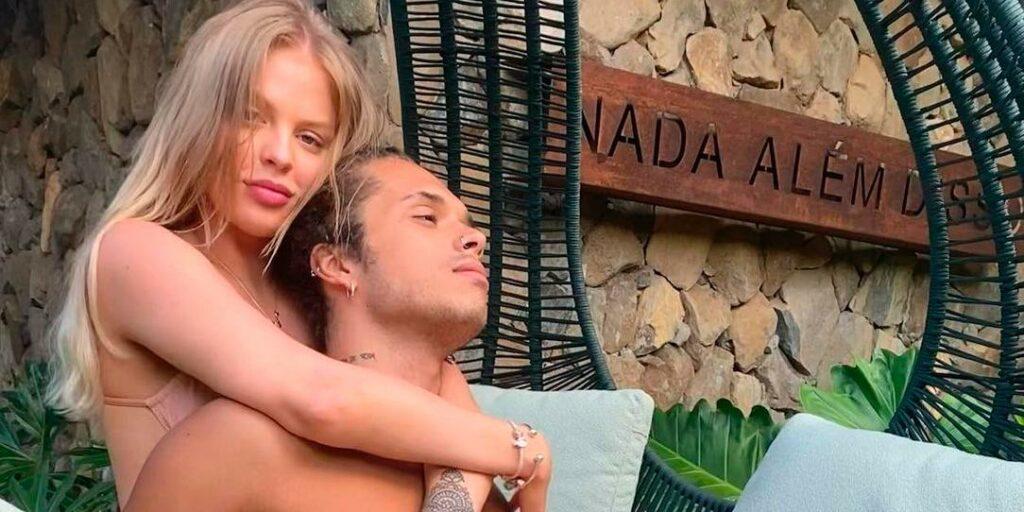 Vitão e Luísa Sonza foram alvos de rumores após o lançamento de Flores (foto: Reprodução)