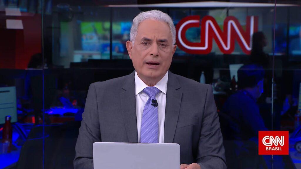 William Waack passará a ter duas atrações na grade da CNN Brasil (foto: Reprodução/CNN Brasil)