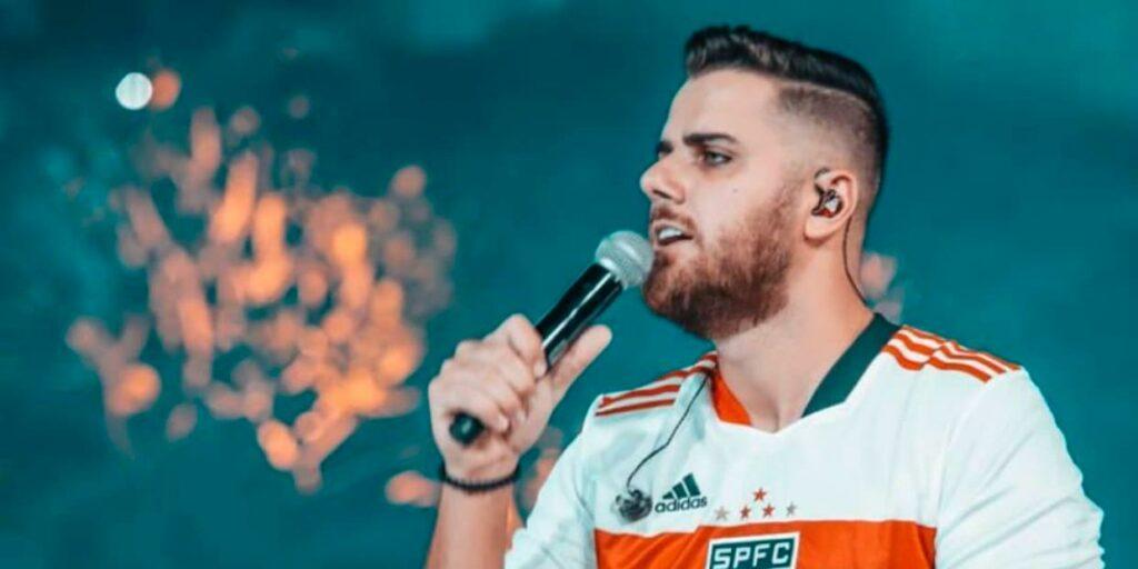 Zé Neto foi alvo de críticas após comentário polêmico em live (foto: Reprodução)