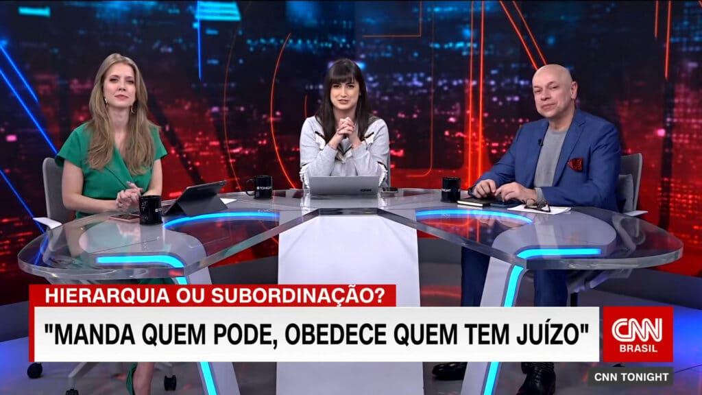CNN Brasil cancelou o talk show CNN Tonight um ano após a estreia (foto: Reprodução)