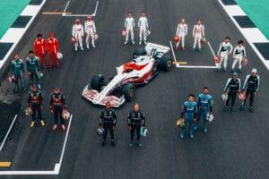 Novo carro da Fórmula 1 foi apresentado na semana passada (foto: Divulgação/Fórmula 1)