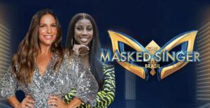 Ivete Sangalo e Camilla de Lucas são as apresentadoras do The Masked Singer Brasil (foto: Divulgação/TV Globo)