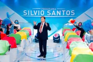 Silvio Santos no auditório (foto: SBT/Lourival Ribeiro)