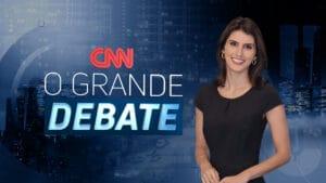 Carol Nogueira vai medir as discussões de O Grande Debate (foto: CNN Brasil/Divulgação)