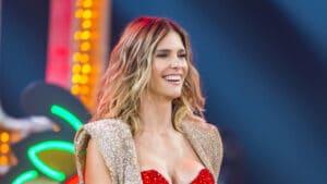 Fernanda Lima deve assumir o comando do Show dos Famosos em novo dia (foto: Globo/Paulo Belote)
