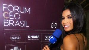 Flávia Noronha diz que pediu demissão porque a RedeTV! cortou seu salário (foto: Reprodução)