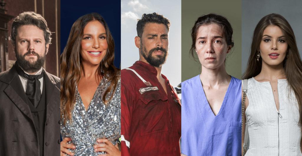 Novelas, séries e realities: conheça as novidades da Globo para o mês de agosto (foto: Arte/TV Pop)